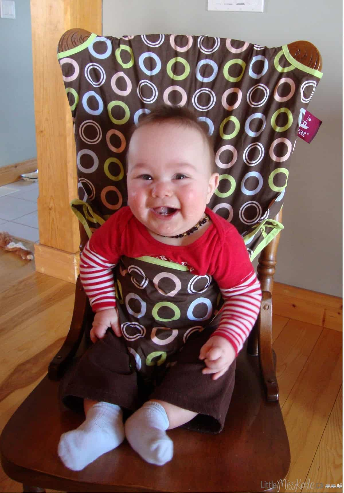 Review Totseat Travel High Chair Little Miss Kate