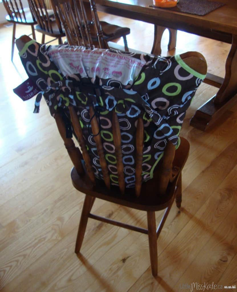Totseat Portable High Chair review