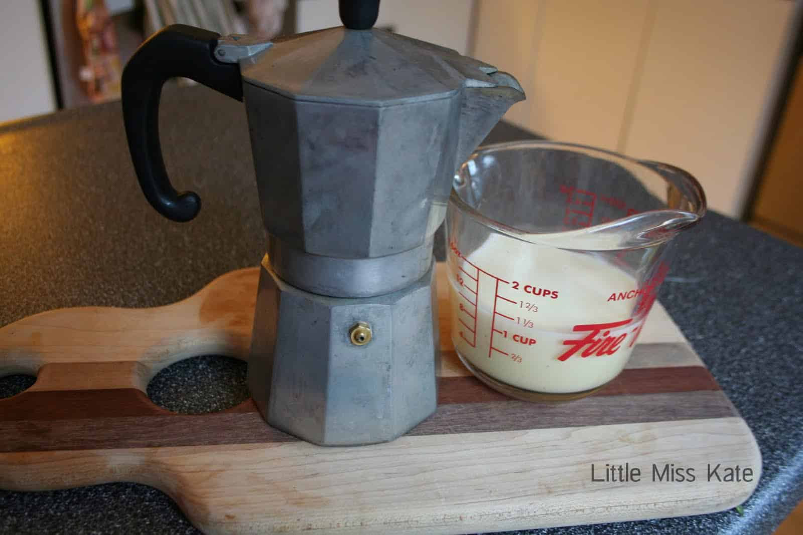 Eggnog Latte Recipe via LittleMissKate.ca