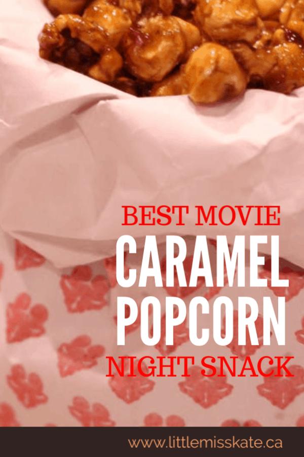 Easy Homemade Caramel Corn Recipe