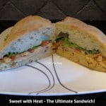 My #UltimateSandwich – Sweet with Heat Grilled Chicken Sandwich!