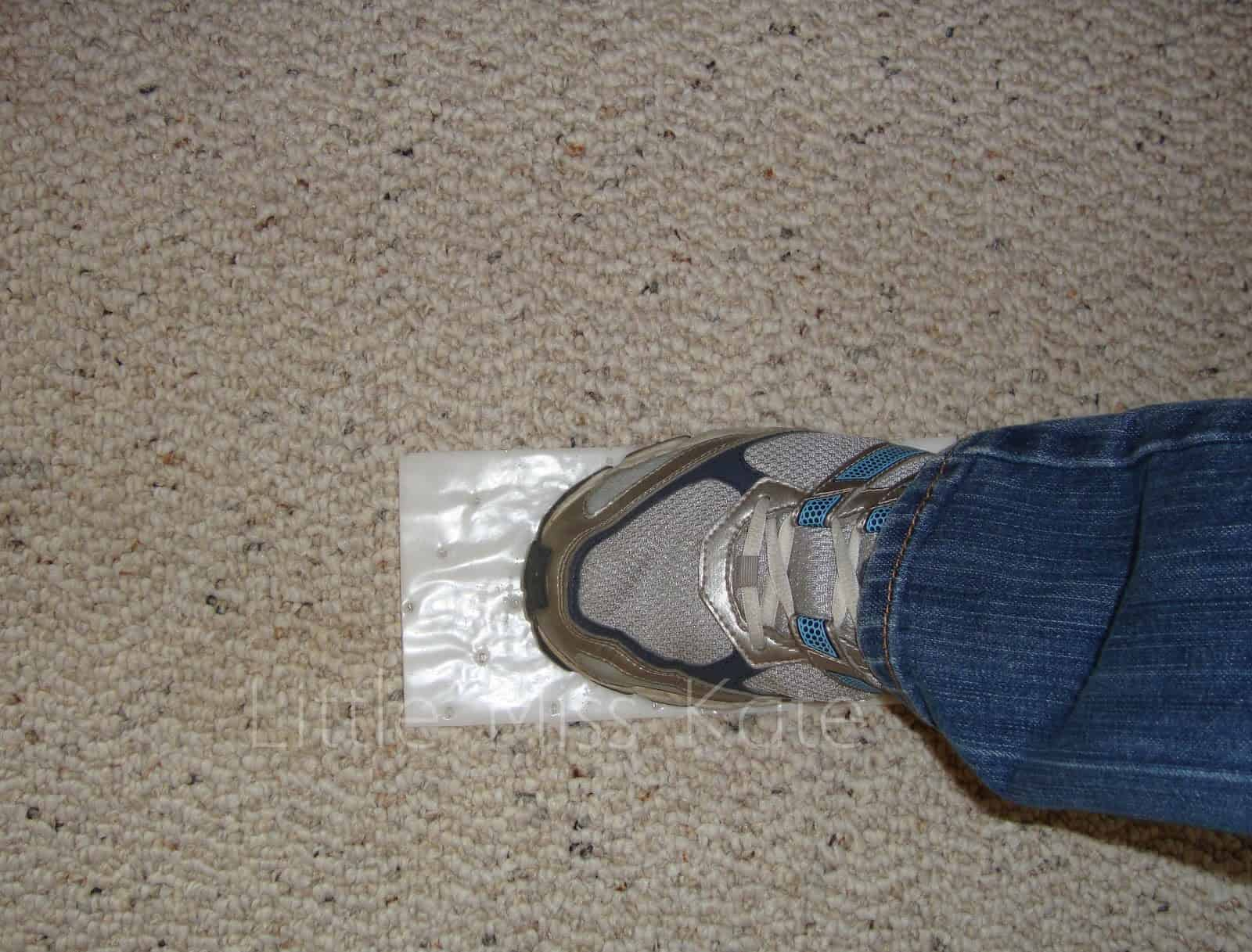 Stomp Out Carpet Stains Withe Stomp N Go From Bissell