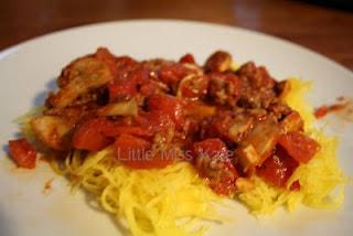 Spaghetti Squash and Bolognese Recipe