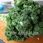 Food for Friday — Something Green for St. Patrick's Day (Roasted Kale)