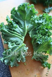 kale chips reciple roasted kale