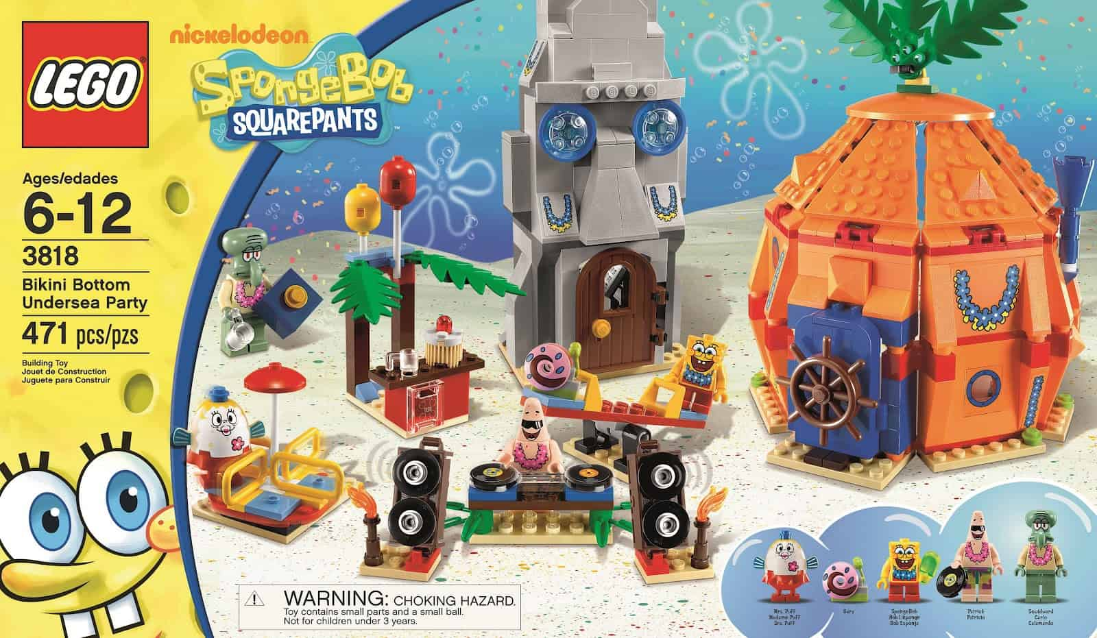 It S Time To Party Lego Spongebob Bikini Bottom Undersea