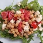 Tomato, Chickpea and Feta Salad
