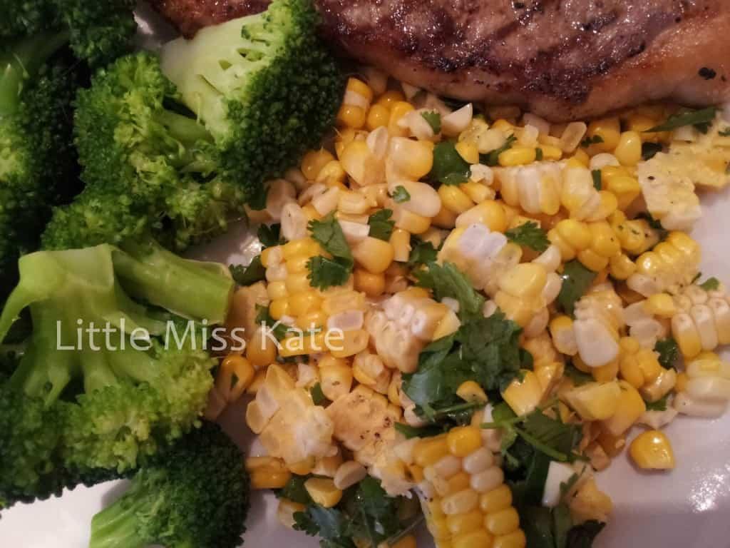 corn with Cilantro and Lime recipe