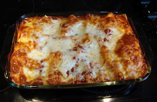 Roasted Red Pepper Lasagna recipe
