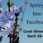 Spring Into Facebook $50 PayPal Cash #Sweepstakes