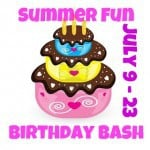 Blogger Sign ups Summer Fun Birthday Bash – July 2012