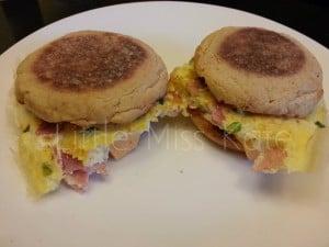English Muffin Recipe Omelette