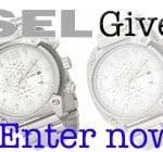 Cross one off your Christmas list – Men's Diesel Watch Giveaway