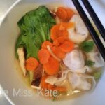 Food for Friday — Cantonese Chicken Noodle Soup