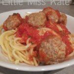 Homemade Meatballs Recipe