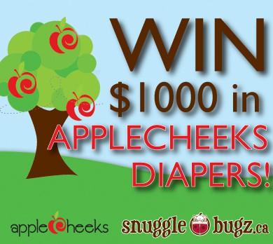 AppleCheeks Cloth Diaper Cake Giveaway
