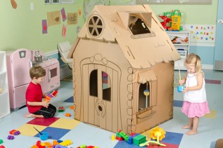 Cascade Cardboard Playhouse