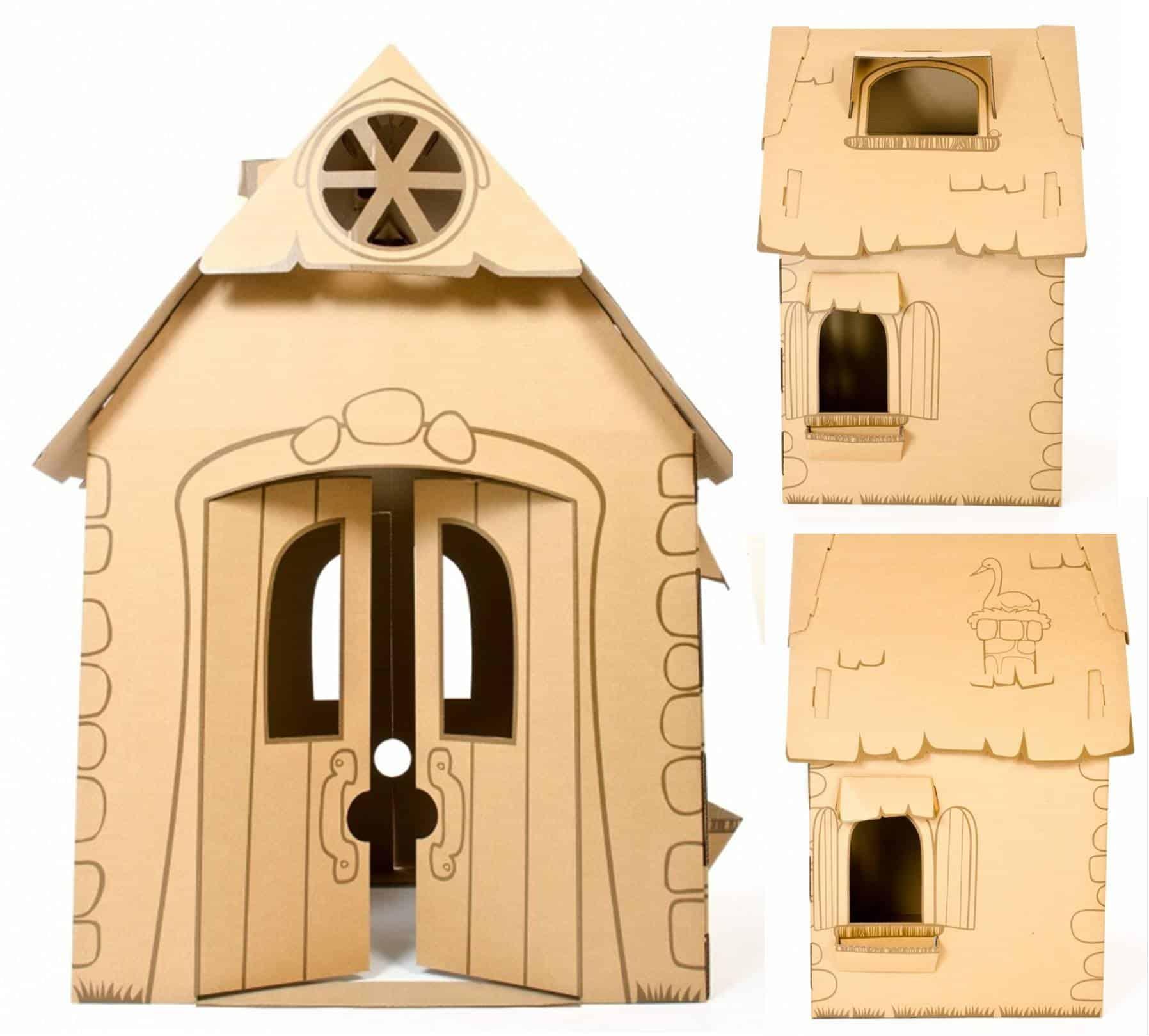 Cascades Cardboard Playhouse