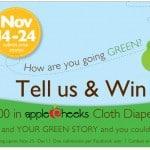 Go Green with SnuggleBugz – Cloth Diaper Cake Giveaway