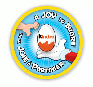 Joy to share KINDER Surprise