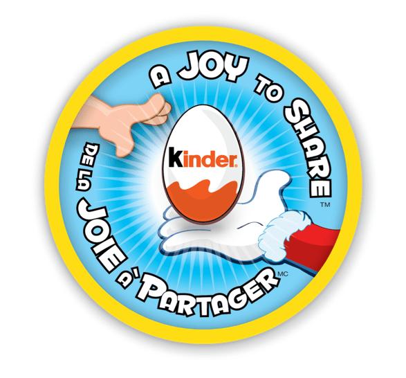 Joy to share KINDER