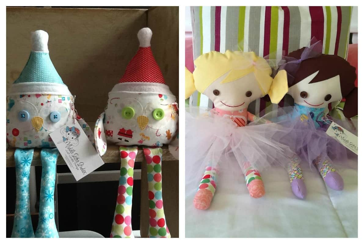 Middle Sister Studios Little Miss Stuffies