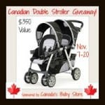 The Great Canadian Double Stroller Giveaway from Canada's Baby Store