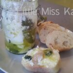 Food for Friday – Marinated Goat Cheese
