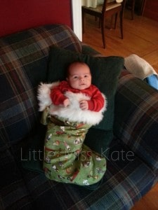 Baby in Stocking