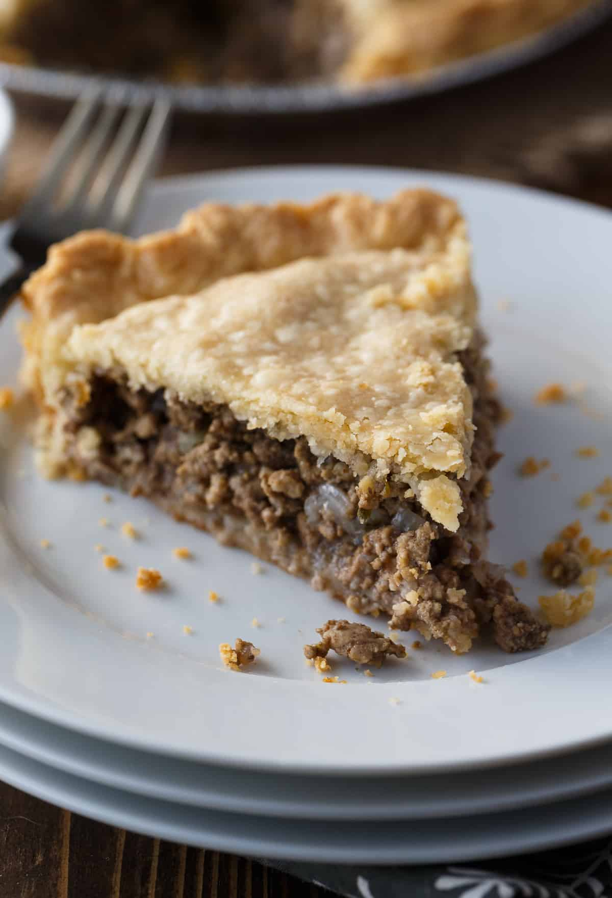 Canadian Meat Pie - French Canadian Tourtiere Recipe ...
