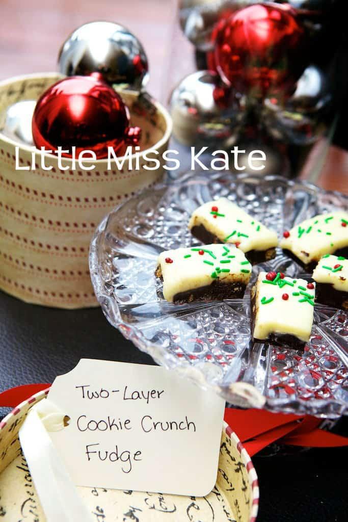 Cookie Crunch Fudge