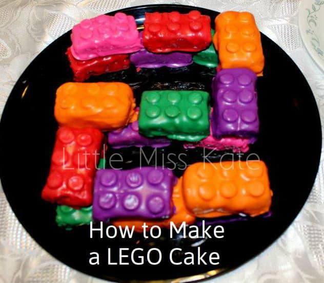 Lego cake 10