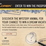 National Geographic Passport to Explore Contest Blogger Code