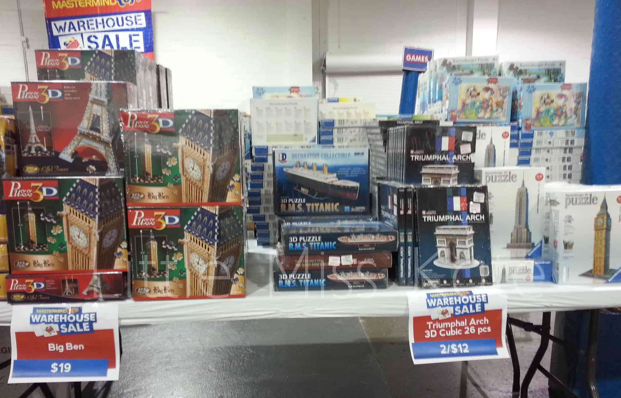 mastermind toys warehouse sale 6