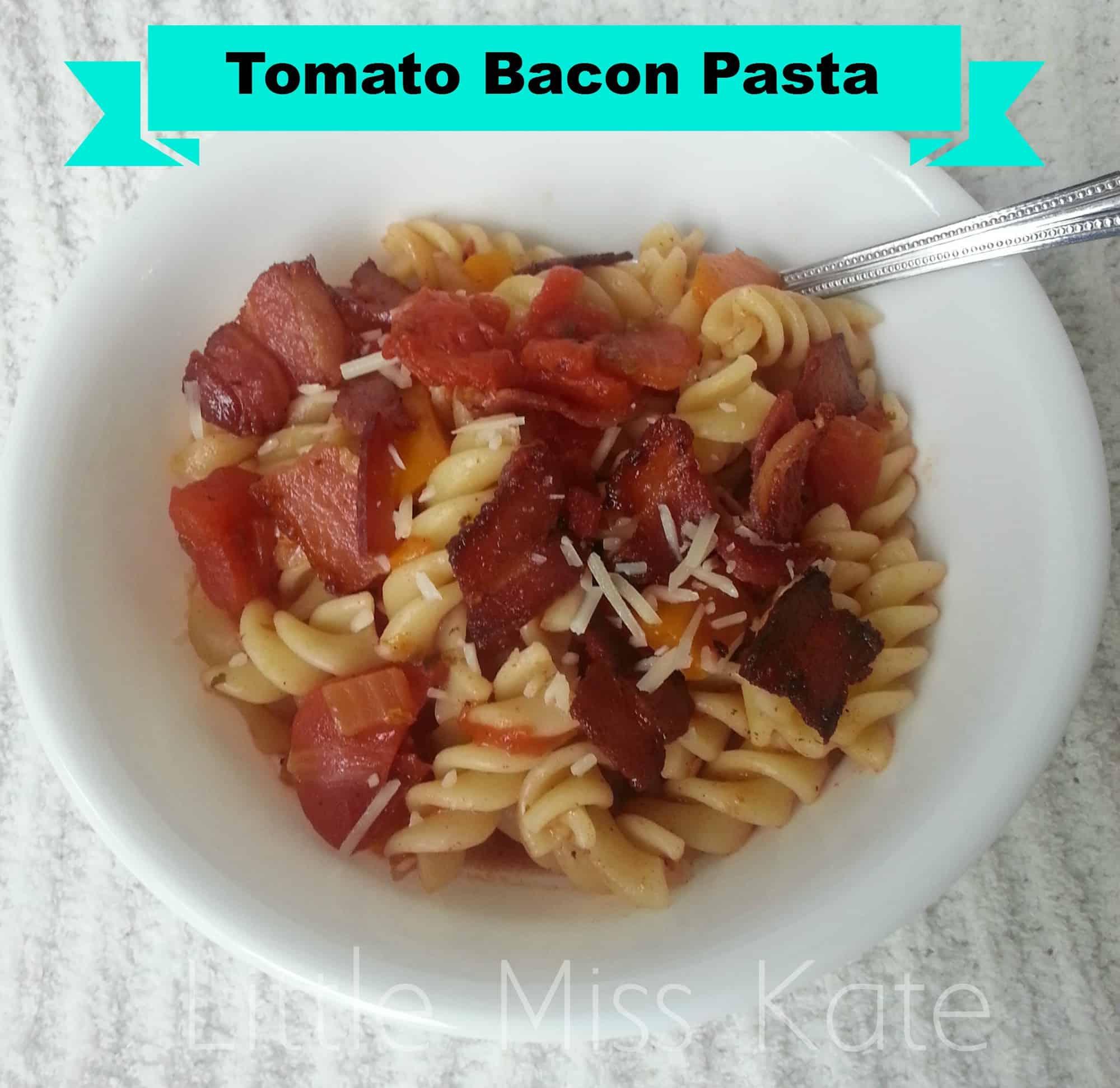 Tomato Bacon Pasta Recipe