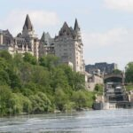 Enjoying the City from the water: Ottawa Boat Cruise