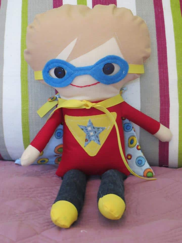 made in canada gift ideas superhero stuffie
