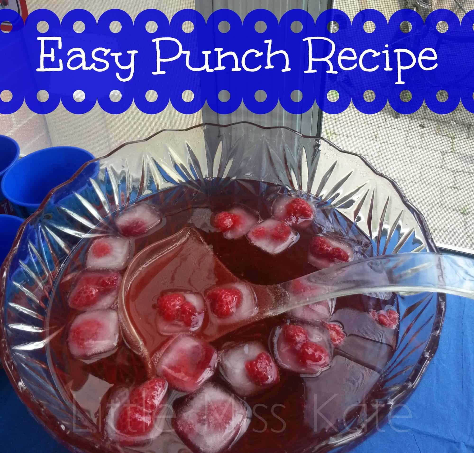Easy Punch Recipe