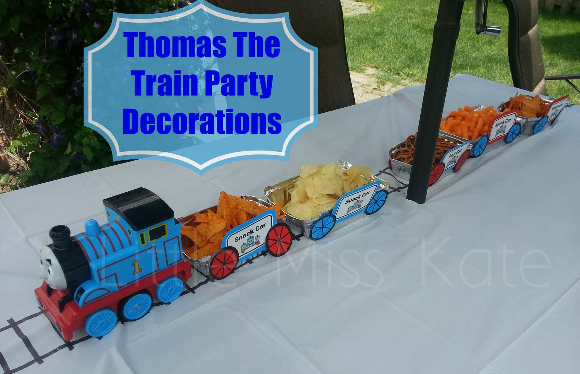 Thomas the Train Party decorations