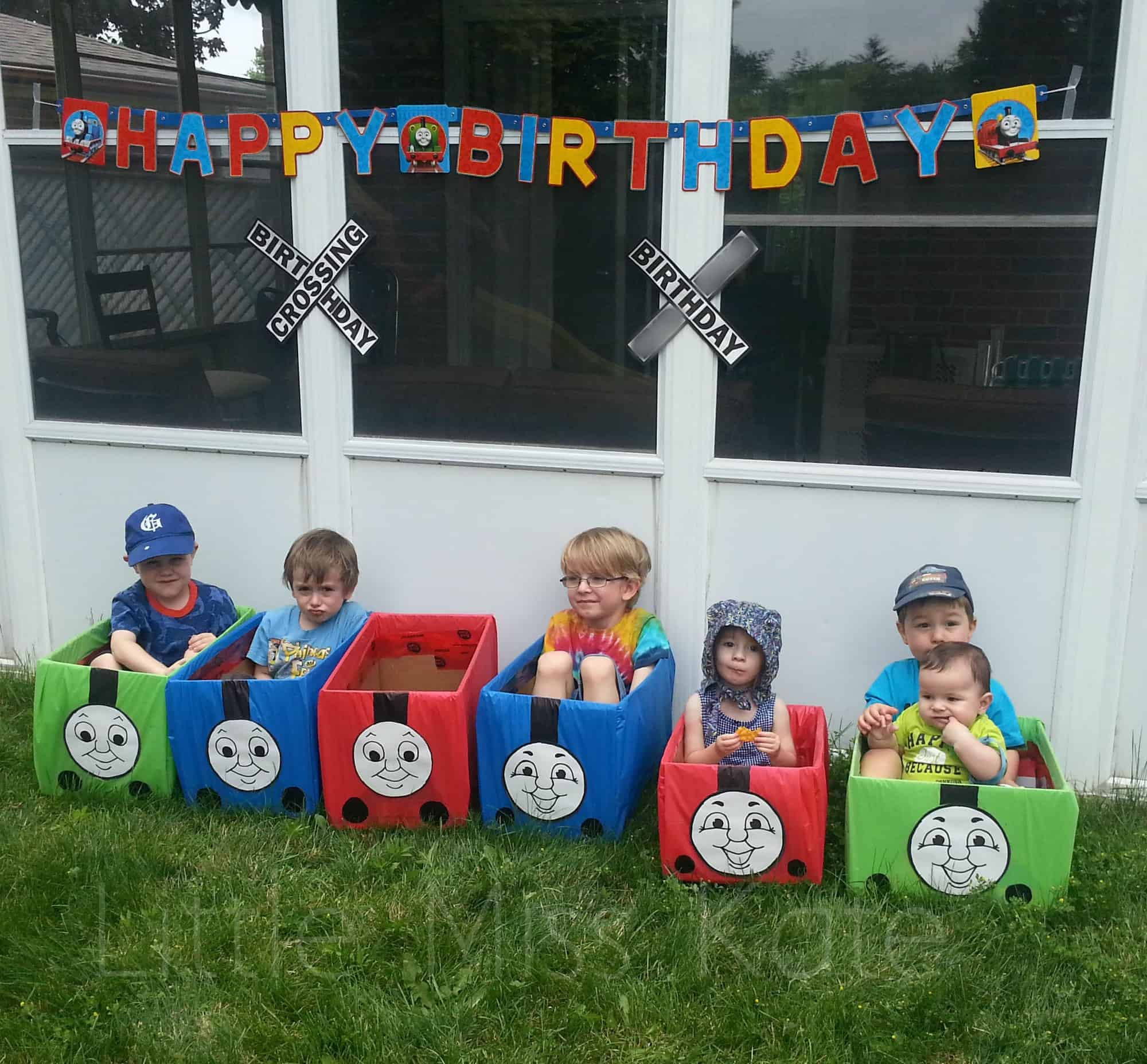 Kids Birthday Party Ideas: Thomas the Train Party Ideas - Little Miss Kate