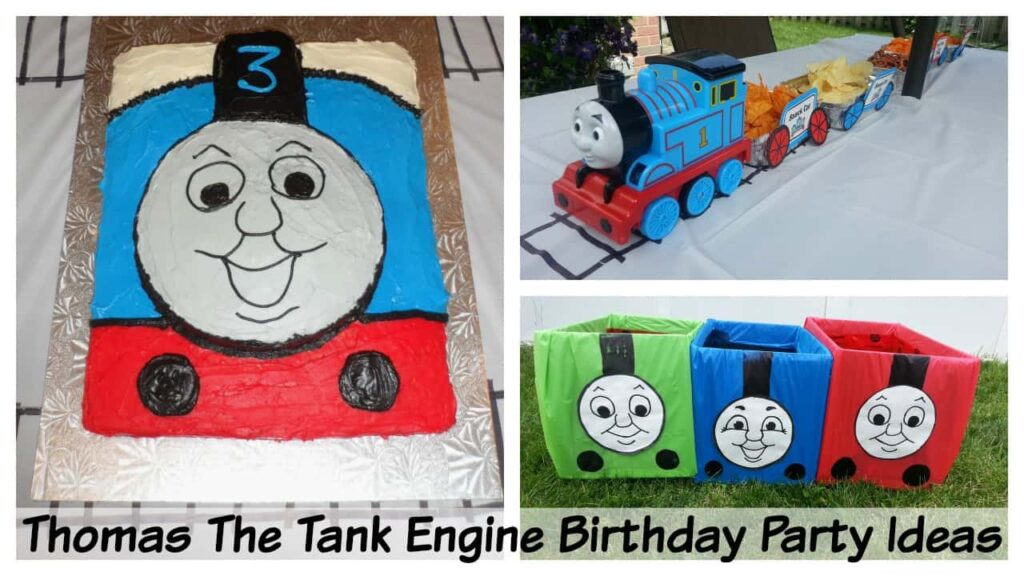 Brilliant Kids Birthday Party Ideas Thomas The Train Party Ideas Home Interior And Landscaping Sapresignezvosmurscom