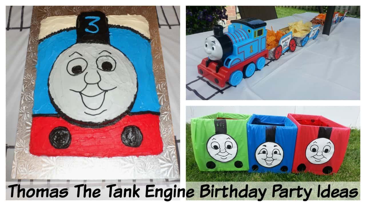 Thomas The Train Birthday Party Ideas