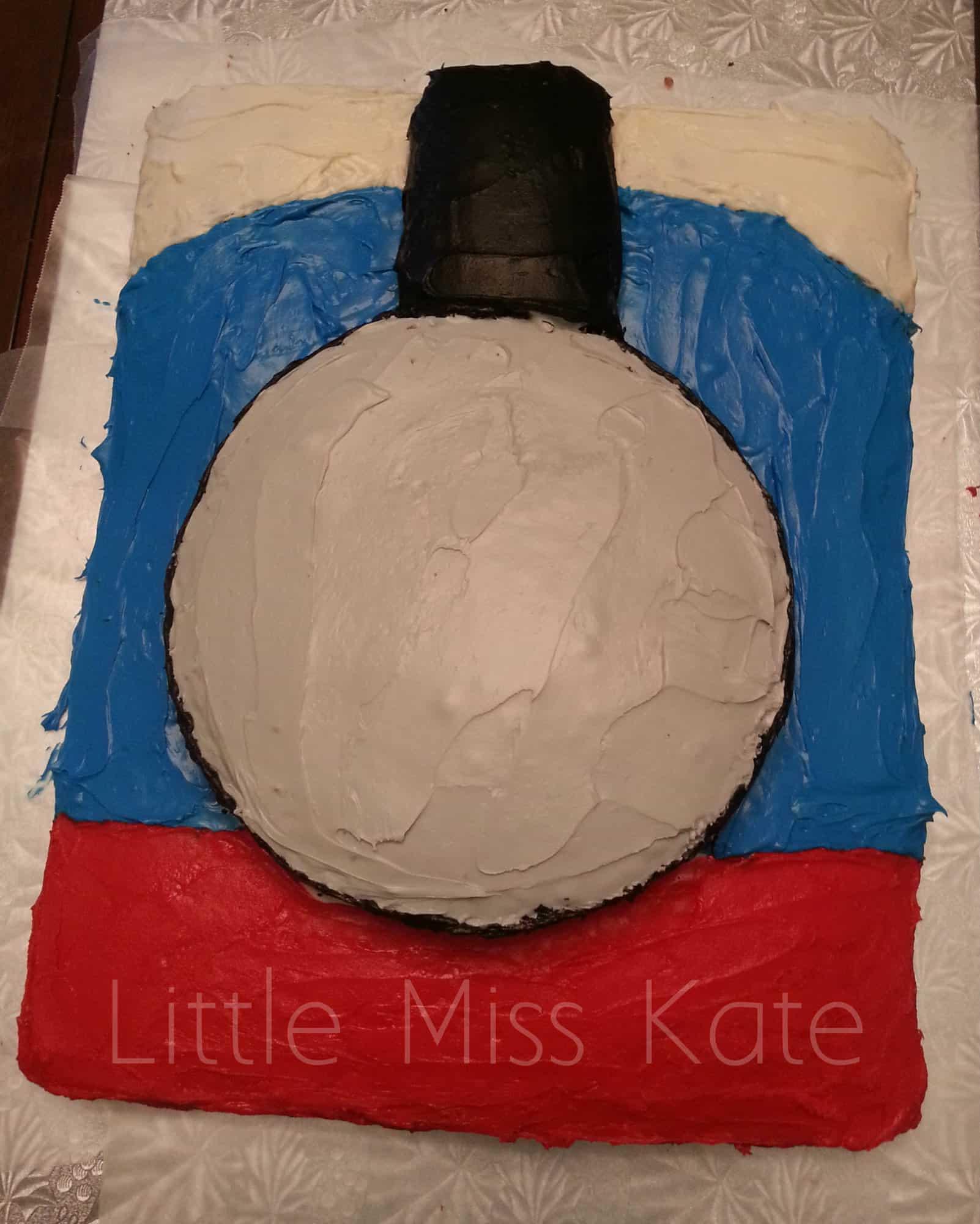 Thomas The Train Cake 5 Little Miss Kate