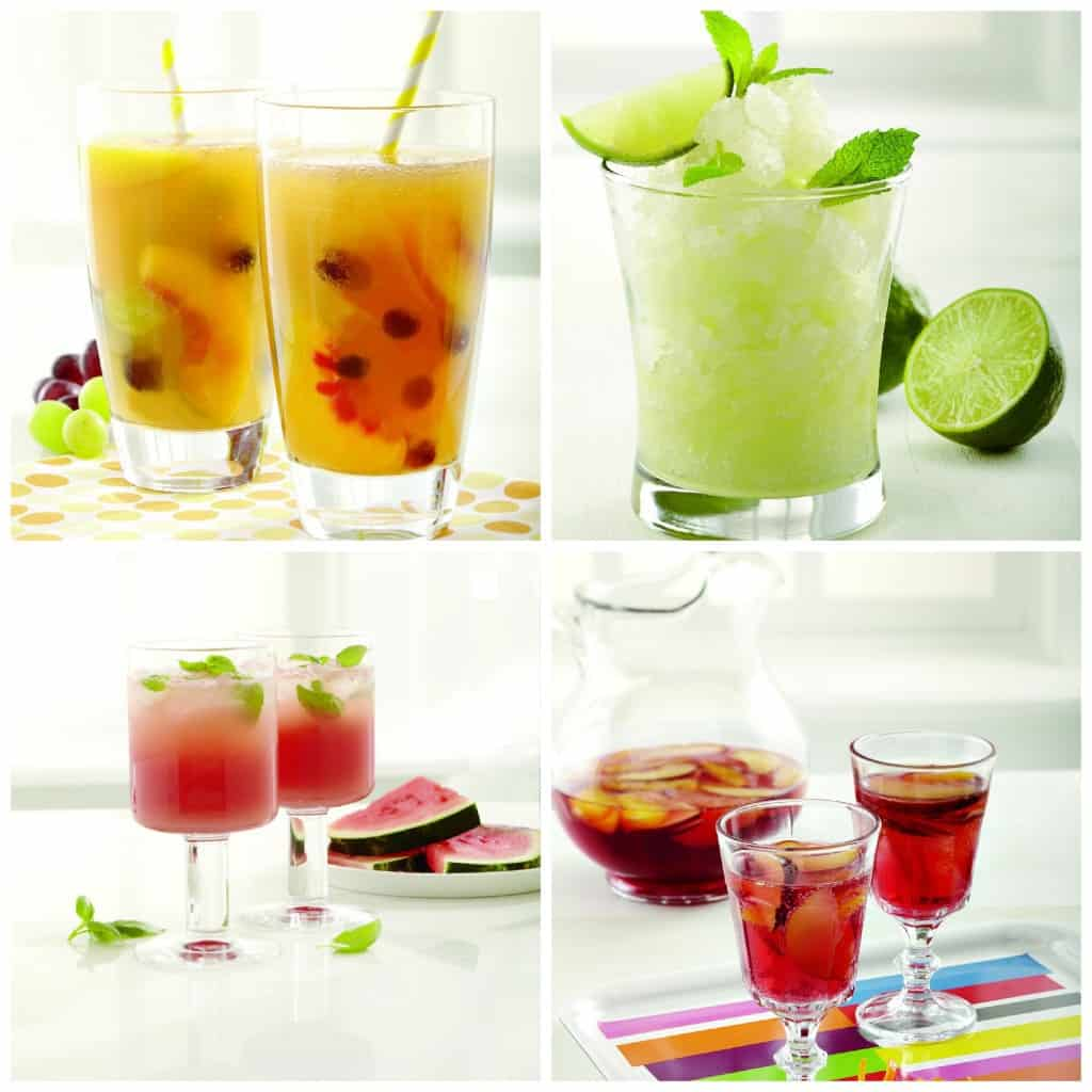 summer drinks with minute maid
