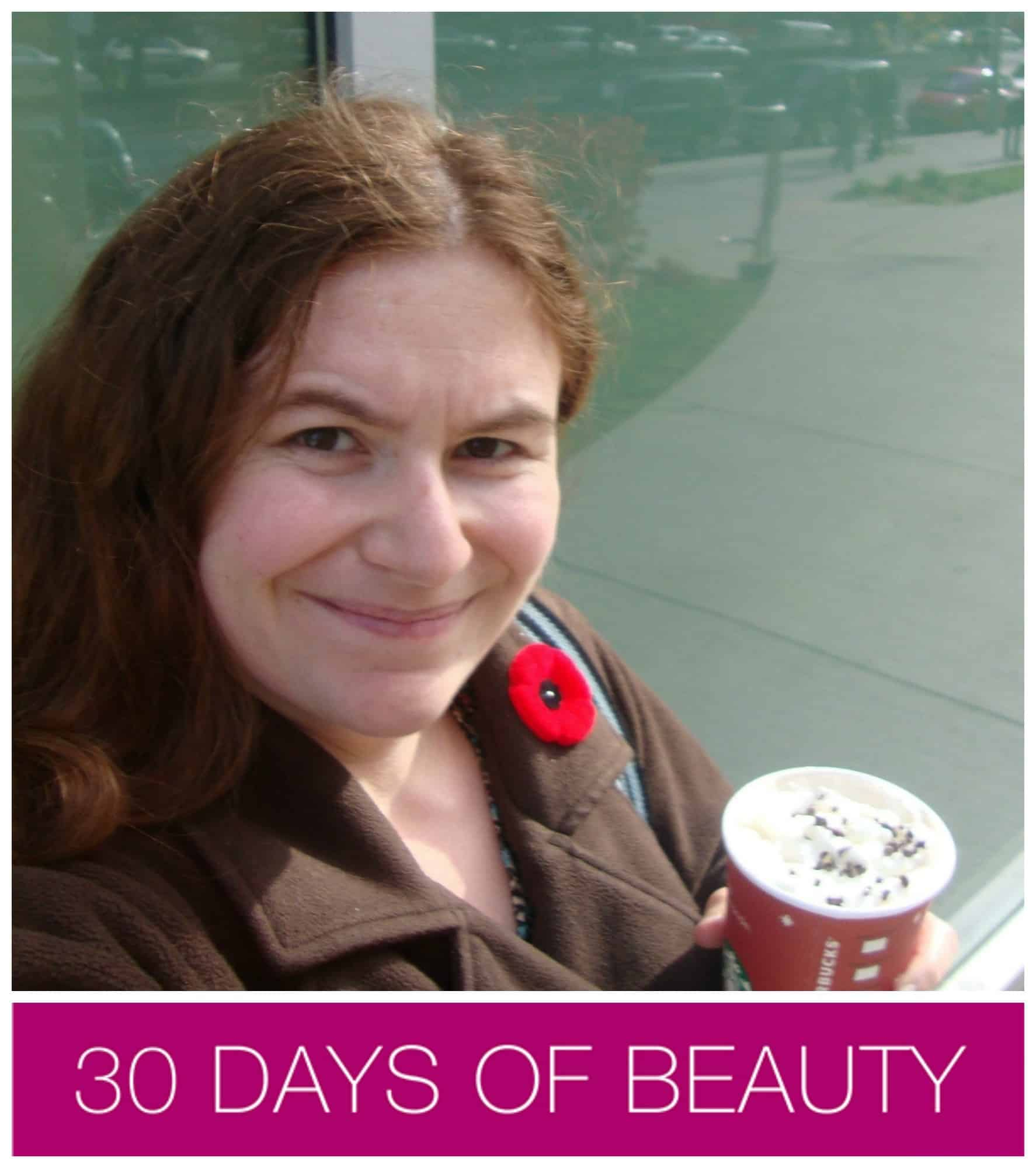 30 days of beauty kate