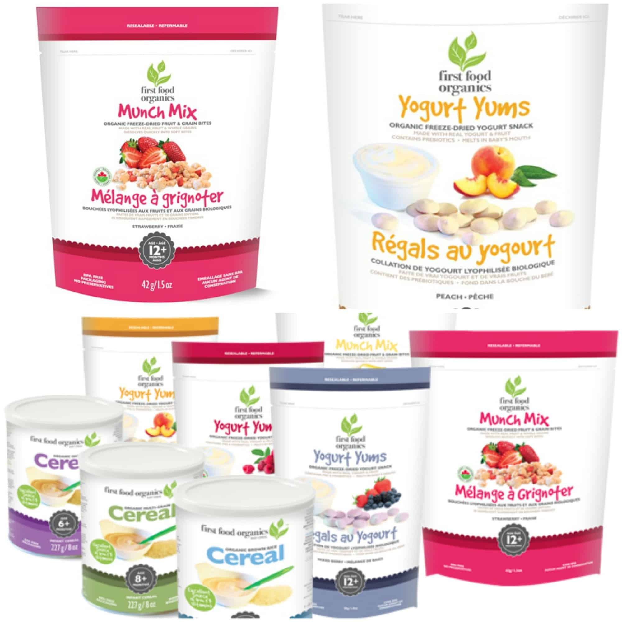 snacks for toddlers first food organics munch mix yogurt yums