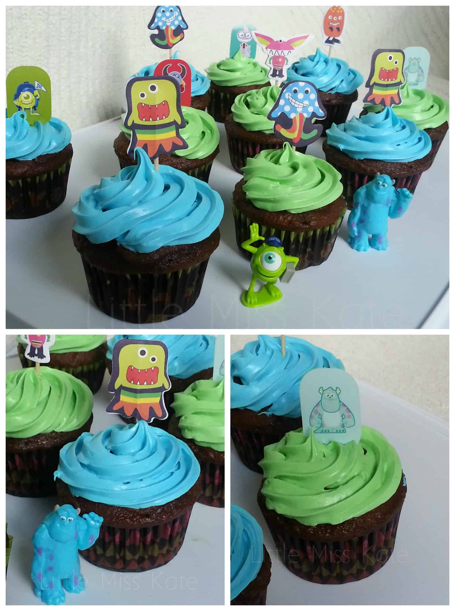 Monster Party cake