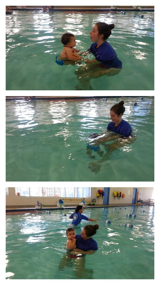 Parent and tot swimming making waves 1