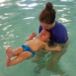 Parent and tot swimming making waves 2