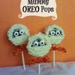 Halloween Treats: Mummy Oreo Pops {Recipe}